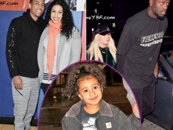 Jordin Sparks & Hubby Dana Isaiah Bump Along The Shopping Scene + North West Does The Movies With Fam + Lakers Baller Julius Randle & Wife Spotted In L.A.