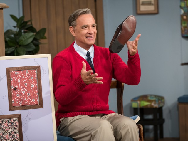 Tom Hanks feels so right as Mr. Rogers giving a lesson in forgiveness in 'A Beautiful Day'