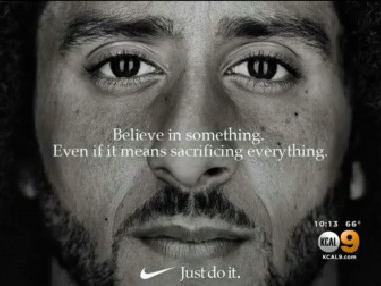 Nike Takes Sides, Tapping Colin Kaepernick For New 'Just Do It' Ad