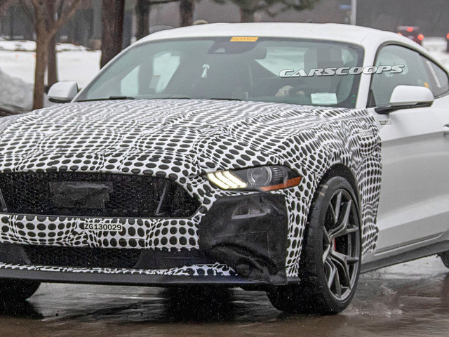 Possible Ford Mustang Mach 1 Spied, Could Have Around 500 HP