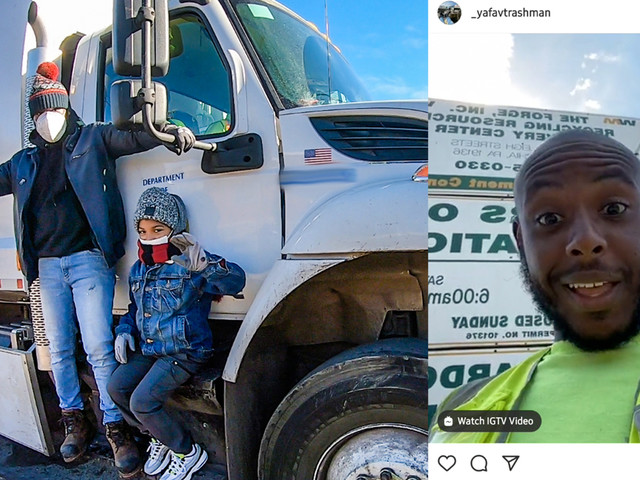 Philly's 'Favorite Trashman' clean-up work extends beyond his pickup route