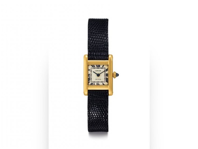 Cartier Tank watch owned by Jacqueline Kennedy up for auction
