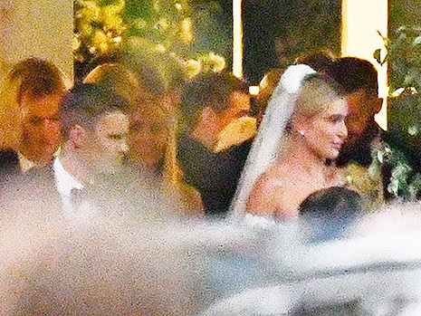 Hailey Baldwin's Wedding Dress: She Weds Justin Bieber In Gorgeous Off-The-Shoulder Gown
