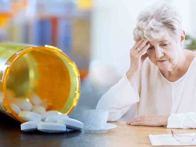 Anticholinergic drugs increase your risk for dementia