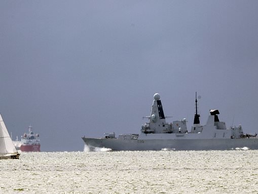 Royal Navy sending HMS Defender its THIRD warship to the Gulf
