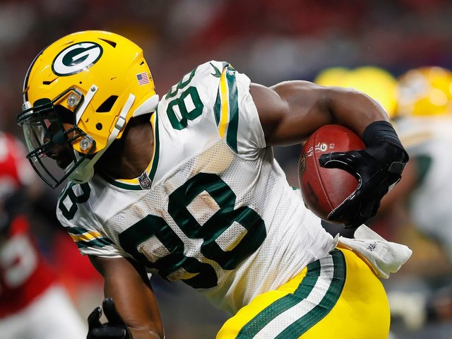 Ty Montgomery suffers broken ribs in Packers' game against Bears