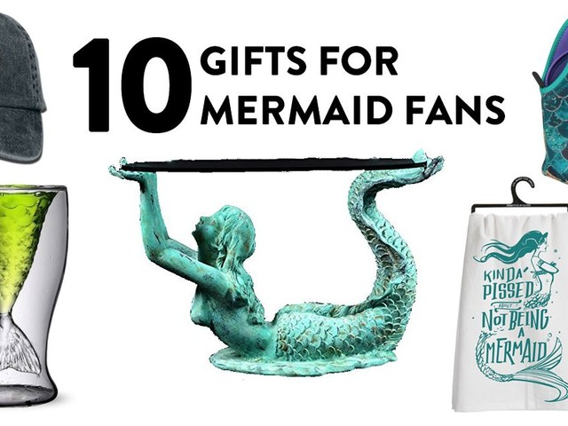 10 Gifts for Mermaid Fans