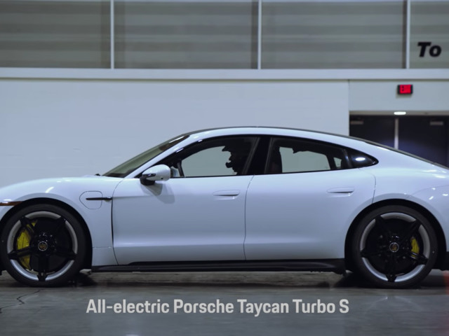 This Just In: Porsche Taycan Sets Land Speed Record…Indoors!