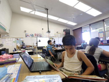 The learning effect of air quality in classrooms