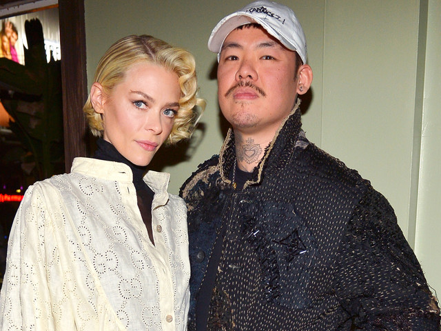 Jaime King Supports Dr. Woo at Frieze L.A. Celebreation!