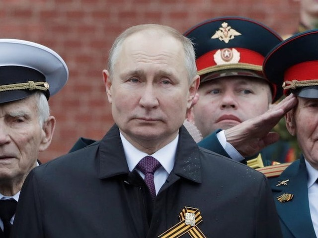 Putin is looking abroad for an enemy as he feels the heat at home