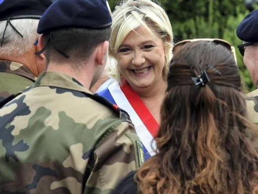 "Le Pen Warns Macron ""Danger Of Civil War"" Looms If He Doesn't Handle Islamist Problem"