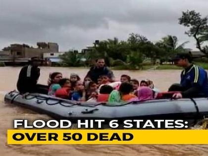Maharashtra, Kerala Worst-Hit In Flood Fury, Lakhs Evacuated