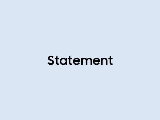 Statement on Fingerprint Recognition Issue
