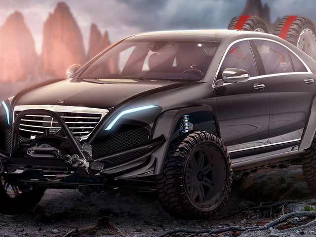 Rugged Brabus Mercedes S-Class With 887 HP Would Be Wonderfully Absurd