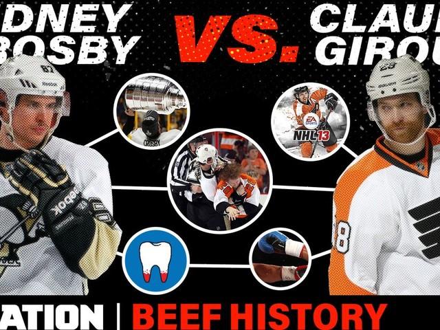 Beef History: Sidney Crosby vs. Claude Giroux
