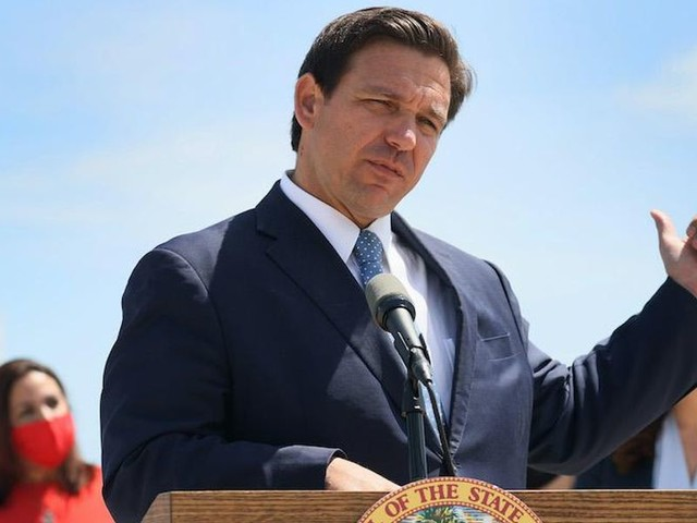 Gov. DeSantis announces he will pardon anyone charged for defying mask and social distancing mandates
