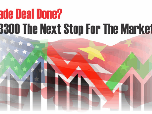Trade Deal Done? Is 3300 The Next Stop For The Market?