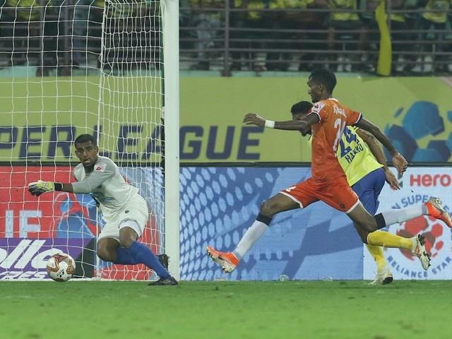 ISL: Rodrigues' Injury Time Goal Helps Goa Hold Kerala To 2-2 Draw