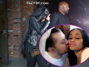 Blac Chyna Goes Ringless In L.A. After Reuniting With Rob Kardashian, Trademark Also Gets Denied + Tyga & Kylie Supposedly Call It Quits Again