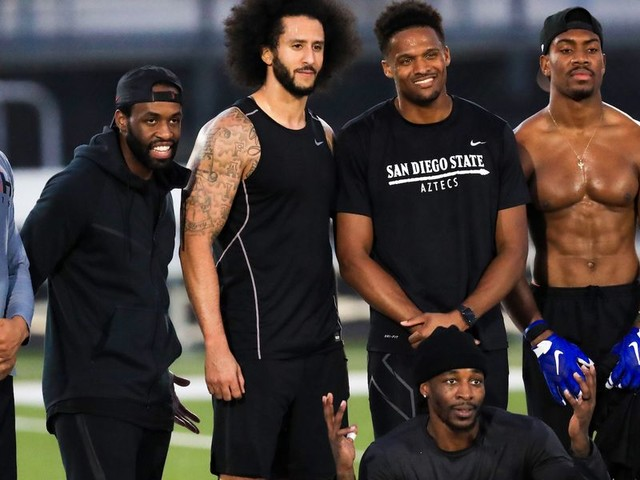 Colin Kaepernick's workout results in NFL team signing — but for his receiver, not for Kaepernick