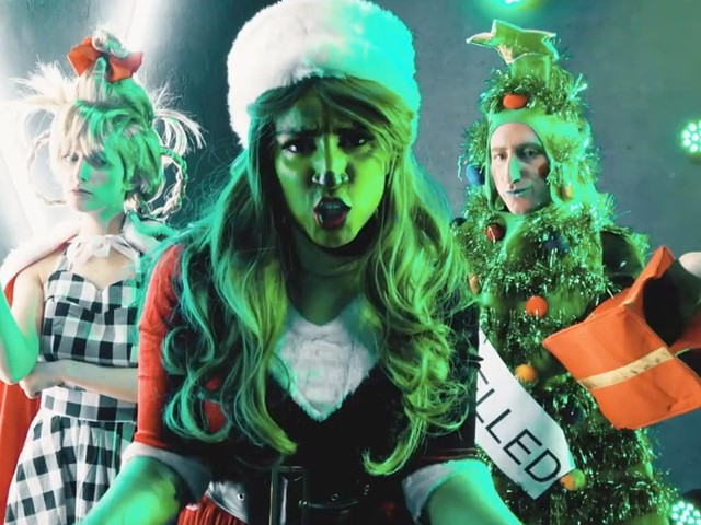 """Merry Grinchmas! This Parody Remix of Billie Eilish's """"Bad Guy"""" Is My New Holiday Jam"""