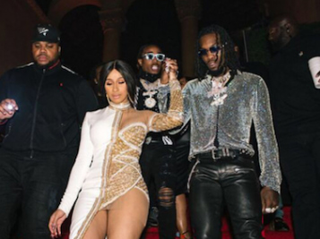 FIANCÉ MOVES: Cardi B. Copped Offset A Rolls Royce For His 26th Birthday