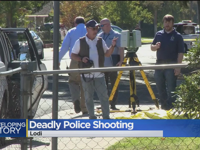 Suspect Dead After Lodi Police Shooting