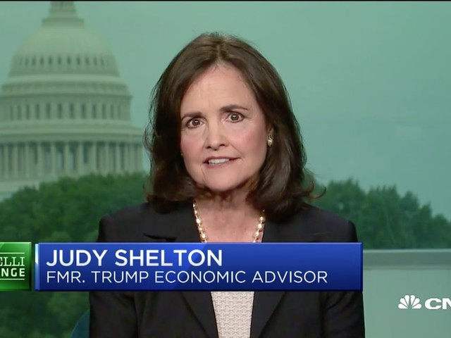 Trump just tapped former economic adviser Judy Shelton for a Federal Reserve seat. She's a fierce critic of the central bank who sees a gray area on its independence from the administration.