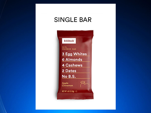 RXBAR Issues Recall For Several Protein Bars