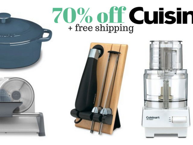 Cuisinart Kitchen Sale – up to 70% off + Free Shipping