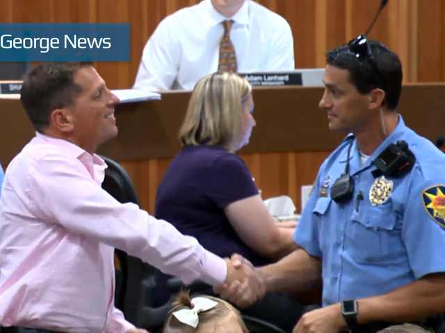 St. George Police Department recognizes 'everyday heroes' for bravery under pressure