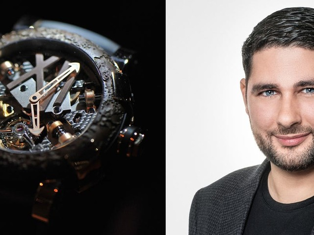 The millennial CEO at the head of one of the most controversial luxury watch brands in the world credits his success to two key factors: passion and luck