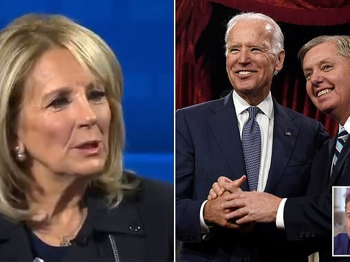 'I don't know what happened to Lindsey Graham.' Jill Biden says GOP senator is no longer a friend