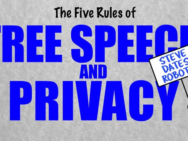 The First Amendment and Privacy: Free Speech Rules (Episode 9)
