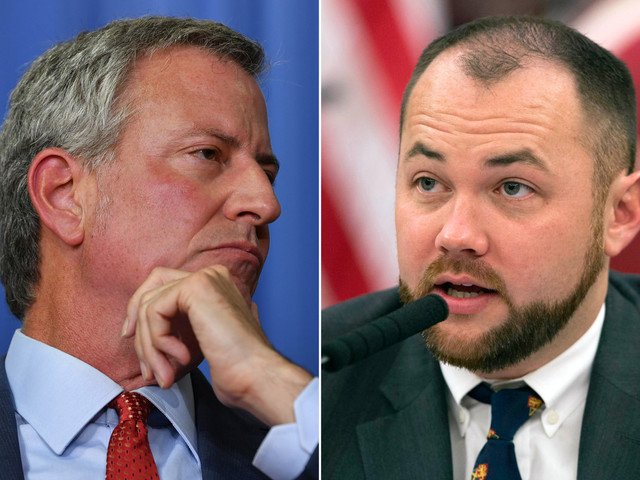 Corey Johnson slams Bill de Blasio for not 'showing up' to work