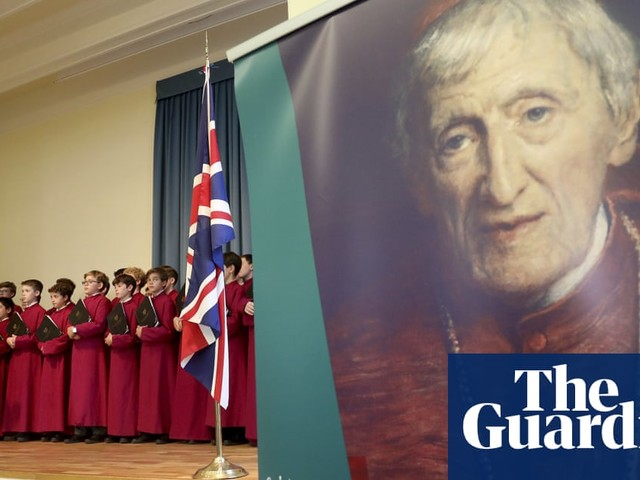 John Henry Newman is first Briton to be canonised in 43 years