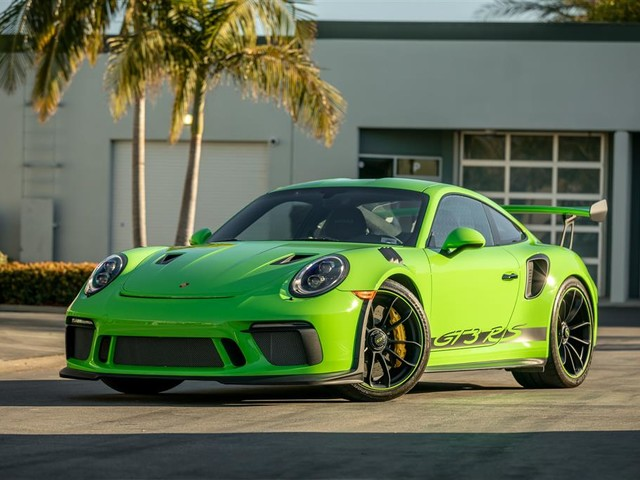 2019 Porsche 911--GT3--RS