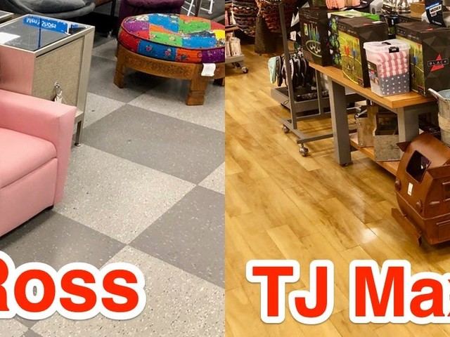 We visited a Ross and a TJ Maxx and while the former was far messier, both showed why discount shopping is the future of retail
