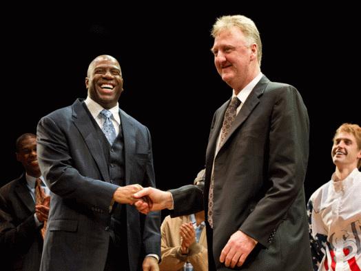 Magic Johnson, Larry Bird, Robin Roberts Honored at 2019 NBA Awards
