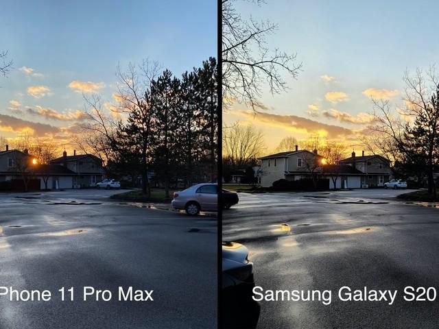 Camera Comparison: iPhone 11 Pro Max vs. Samsung Galaxy S20 Ultra