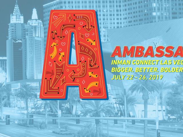 Ambassadors announced for Inman Connect Las Vegas 2019