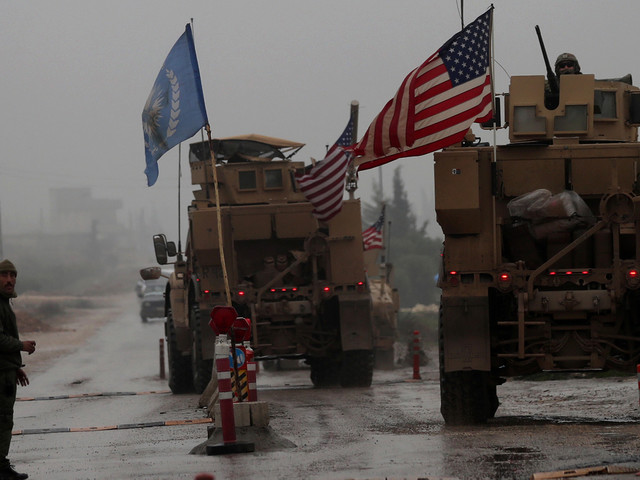 U.S. Has 'Begun The Process' Of Withdrawing From Syria, Pentagon Says