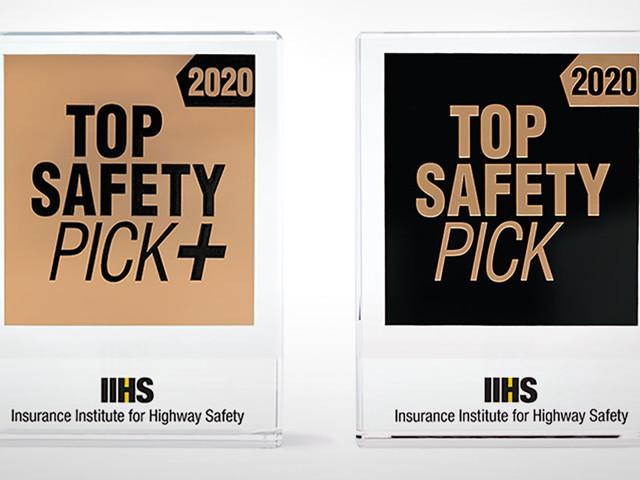 IIHS announces 2020 awards criteria