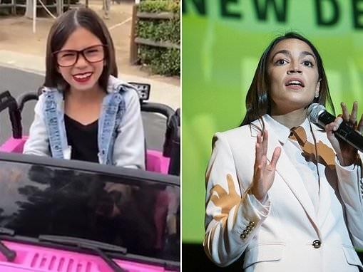 AOC impersonator mocks New York congresswoman's climate change plan