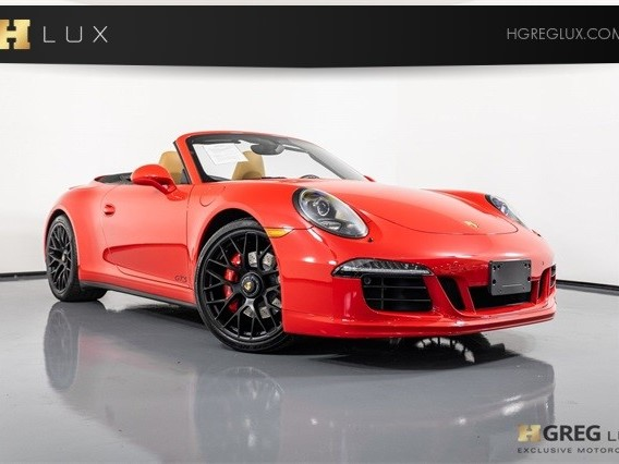 2016 Porsche 911--Carrera--4--GTS--Cabriolet