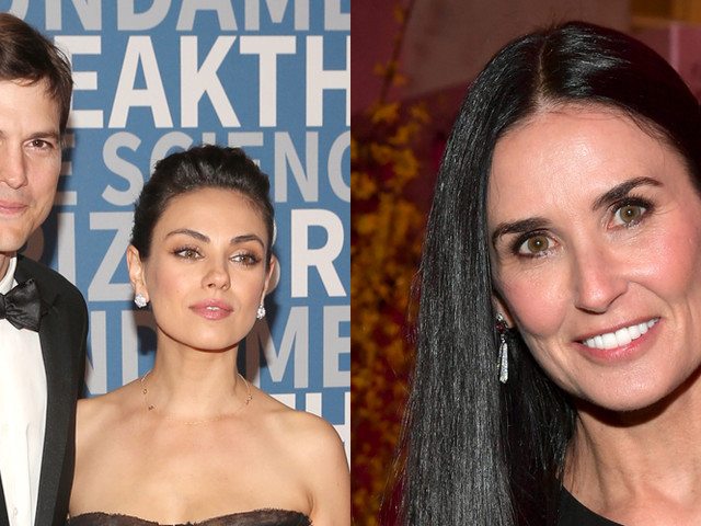 Here's How Ashton Kutcher & Mila Kunis Feel About Demi Moore's Major Revelations