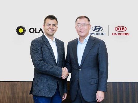Ola raises $300M as part of a new electric vehicle partnership with Hyundai and Kia