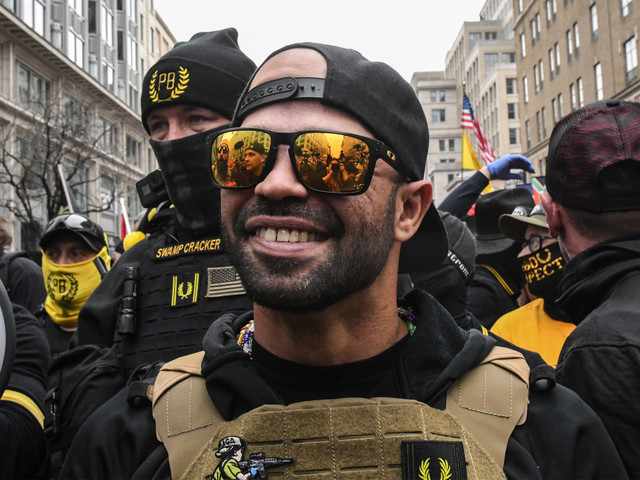 Proud Boys leader arrested for burning BLM banner stolen from black church