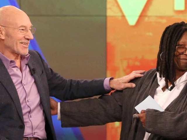 Whoopi Goldberg Tears Up After Patrick Stewart Invites Her to Join the 'Star Trek: Picard' Cast